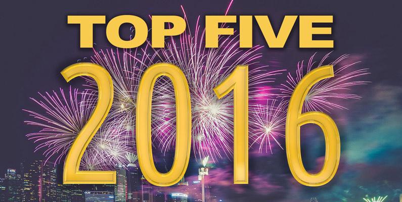Top 5 Blog Posts of 2016