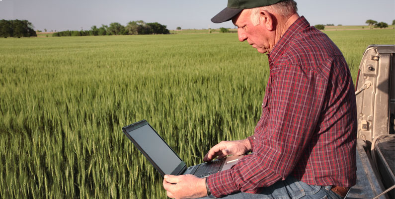 native advertising to marketing to farmers