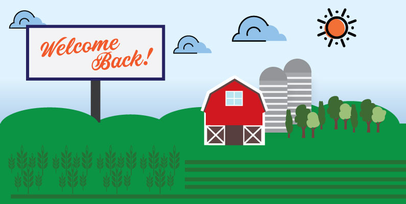 Marketing to farmers returning to Rural America