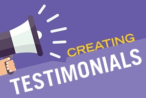 Taking it to the field: tips for creative testimonials