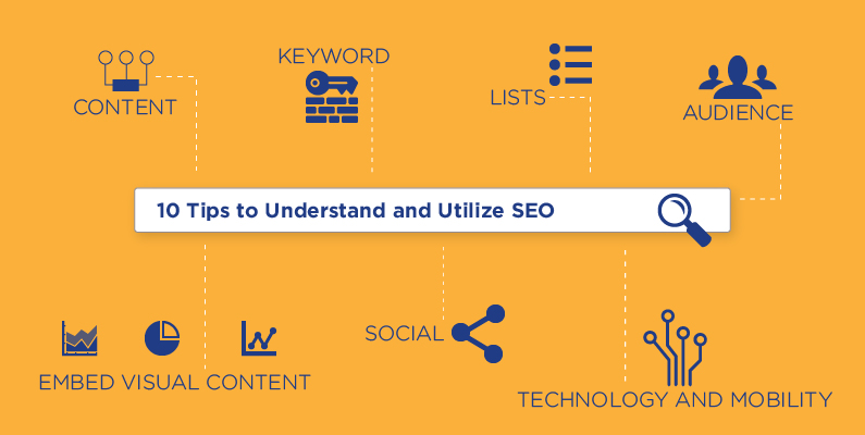 10 tips to understand and utilize SEO