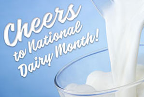 From cup to cone, celebrate National Dairy Month!